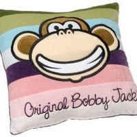 Amazon.com: Bobby Jack Groovy Stripes 16-Inch Plush Decorative Pillow: Home & Kitchen