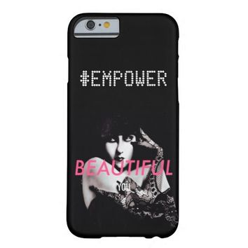 #EMPOWER Woman Classy Black iPhone6 Case