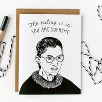 Ruth Bader Ginsburg Card - All Occasion