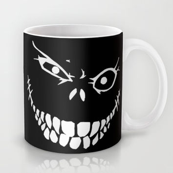 Crazy Monster Grin Mug by Nicklas Gustafsson