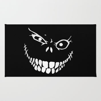 Crazy Monster Grin Area & Throw Rug by Nicklas Gustafsson