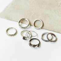Embellished Ring Set-