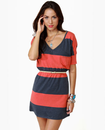 Roxy Juniper Striped Dress