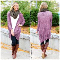 Cherried Away Cardi