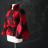 Buffalo Wool Cinch Cape