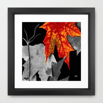 Fall Framed Art Print by raineon | Society6