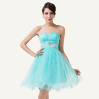 New Short prom dresses Mini Homecoming Christmas Dresses Evening Party Dresses