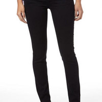 Celebrity Pink Low-Rise Jeggings in Black
