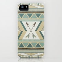 Neutrally Living iPhone & iPod Case by Pink Berry Pattern