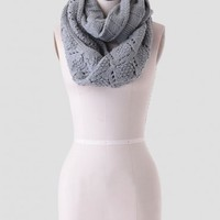 Late Morning Infinity Scarf In Sage