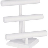 Leatherette Jewelry Display Stand - Three-Tier