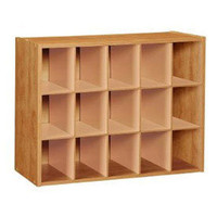 Fifteen Pair Shoe Organizer - Alder