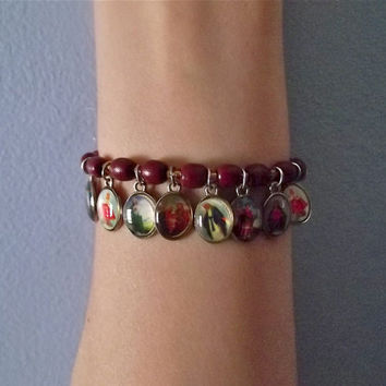 "Beaded ""Jesus"" Faith Bracelet"