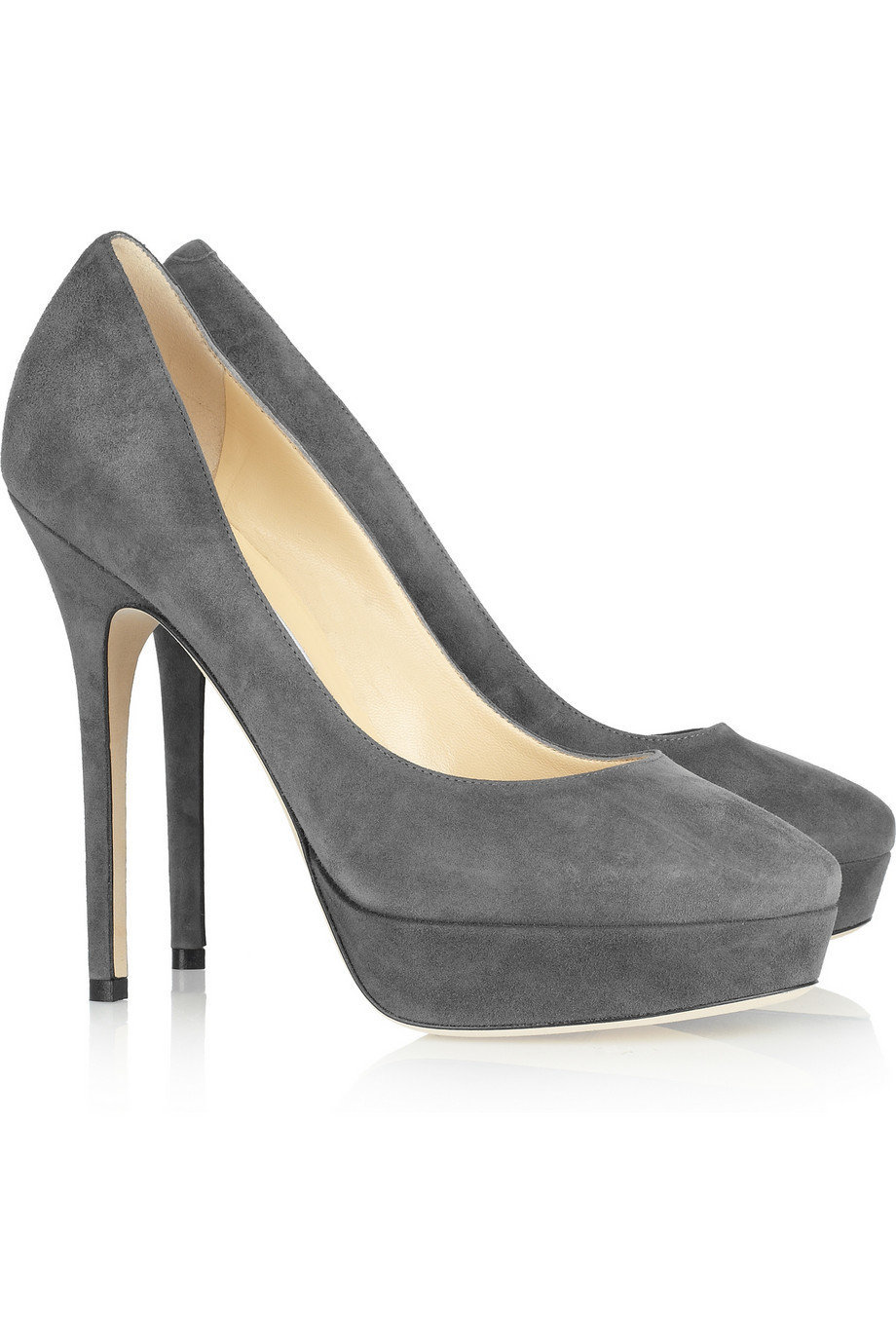 Jimmy Choo | Cosmic suede pumps | NET-A-PORTER.COM