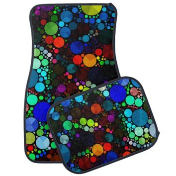 Abstract Bling Pattern Car Mats