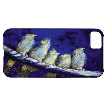 All Fluffed Up 5 Birds iPhone Case