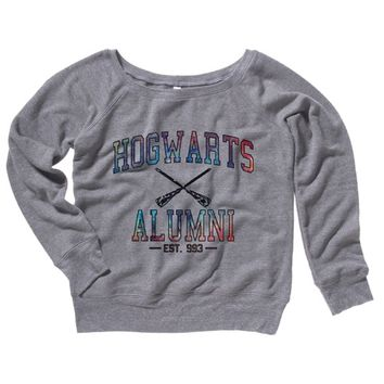 Hogwarts Alumni Galaxy Womens Sweater