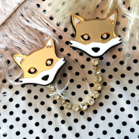 Mr. Fox Collar Clip
