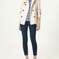DOUBLE BREASTED RAINCOAT - Collection - Woman - New collection - ZARA United States