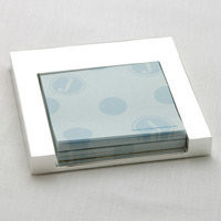 Silver Sticky Note Holder - See Jane Work