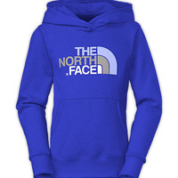 The North Face Girls' Tops GIRLS' MULTI HALF DOME PULLOVER HOODIE