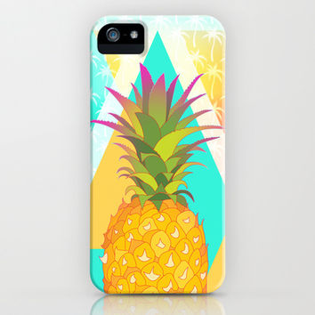Pineapples iPhone & iPod Case by Ornaart | Society6