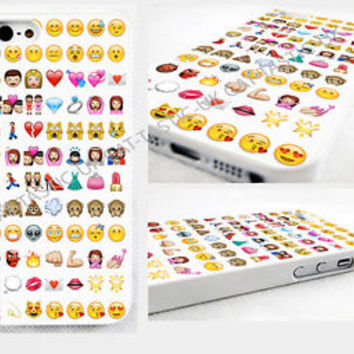 Emoji iPhone 4,4s, 5C, 5S,5,6,6 plus cover Case,Tie Dye,Alien,princess,monkey,