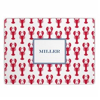 Personalized Lobster Cutting Board