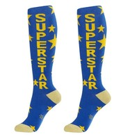 Superstar Unisex Dress Socks