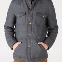 Quilted Devon Jacket - Grey