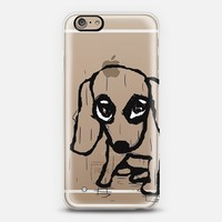 White Puppy iPhone 6 case by Marianna Tankelevich | Casetify
