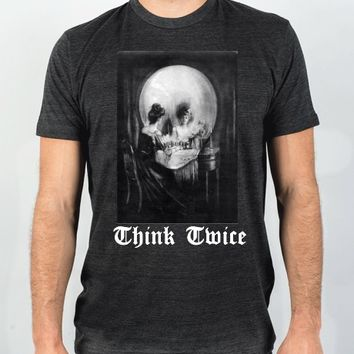 Face Of Death Tee | Fitted T-shirt | Skreened