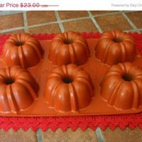 20% OFF SUMMER SALE Muffin Bundt Pan Non-Stick by Nordic Ware