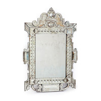 Piazza Hand Etched Mirror