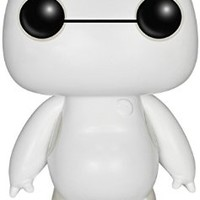 Funko- Disney Big Hero 6 Nurse Baymax, 6 Inch, Glow POP! [Amazon Exclusive]
