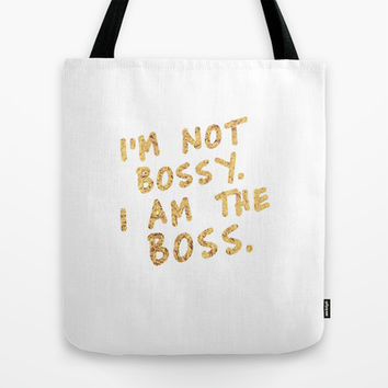 BOSS Tote Bag by Michaela Ramstedt