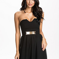 Gold Plate Bandeau Dress