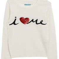 Oxygen | alice + olivia I Heart Me Embellished Sweater