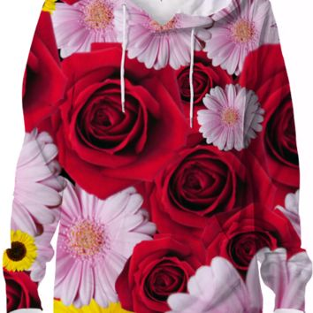 Flower Bomb hoodie created by duckyb | Print All Over Me