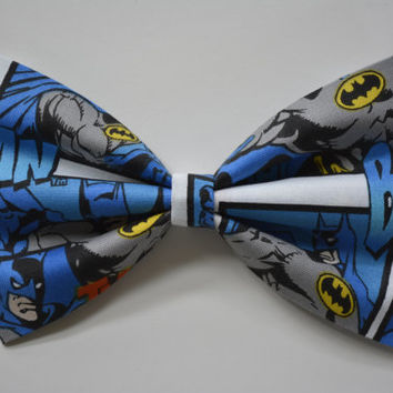 Batman-hair Bow, bows for hair, girls Hair bows, fabric bows, Hair Bow for teens