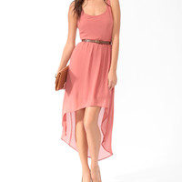 Lace Back High-Low Dress | FOREVER21 - 2000048060