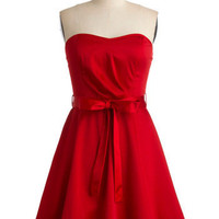 Zest is More Dress in Red | Mod Retro Vintage Dresses | ModCloth.com