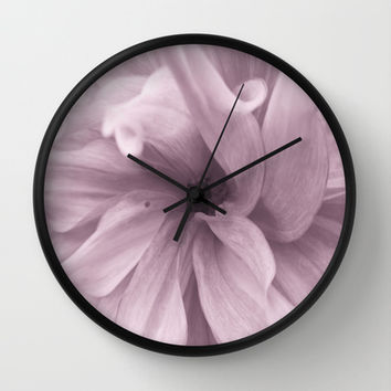 Wrapture Wall Clock by Art by Mel   Society6
