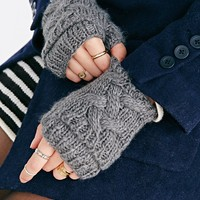 Double Layer Fingerless Glove-