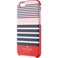 kate spade new york - Laventura Hybrid Hard Shell Case for Apple® iPhone® 6 - Red/Navy/Blush