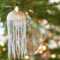 Sequin Jellyfish Ornament