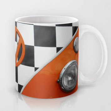 VW Checkers Mug by Alice Gosling