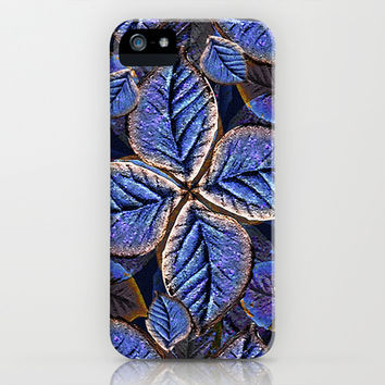 Fantasy Nature Pattern Print  iPhone & iPod Case by DFLC Prints
