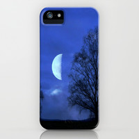 Moon between Trees  - JUSTART © iPhone & iPod Case by JUSTART  * Syl *