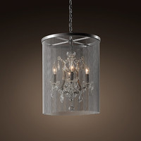 Vaille Crystal Chandelier 17""